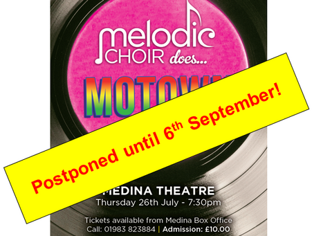 We are sorry to announce that the concert has now been cancelled. The Choir are hoping that a Decemb