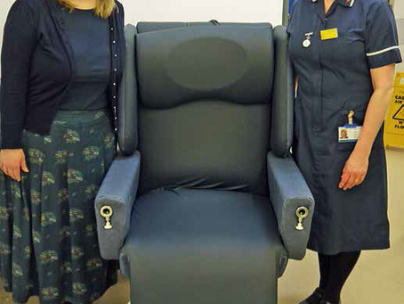 Appley Ward now have a versatile chair