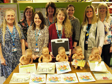 Friends donate to Children's Services