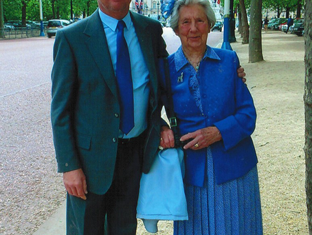 Jackie enjoyed her Royal Time in London