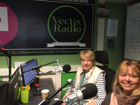 Lesley and Debs radio interview