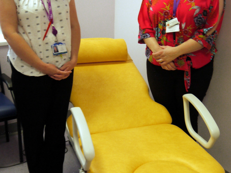 SEXUAL HEALTH SERVICE HAS NEW EXAMINATION COUCH