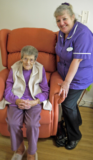 FRIENDS BUY RECLINERS FOR REHAB PATIENTS