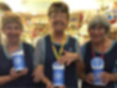 Volunteers with collection tins -cropped