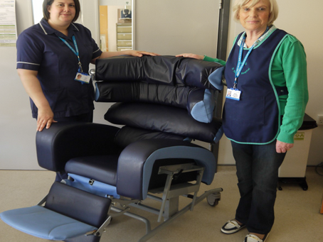Versatile chairs brought for stroke unit