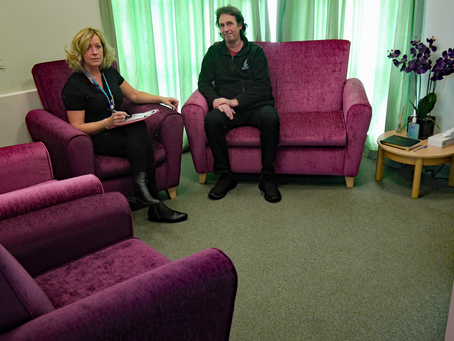 Friends fund new furniture for Bereavement Centre