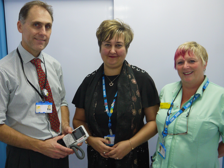 FRIENDS FUND LATEST AID FOR BLOOD FLOW MONITORING