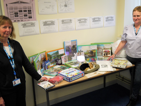 Friends fund toys and games for Memory Service