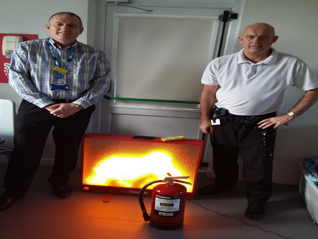 Fire-fighting training has become digital - Thanks to the Friends