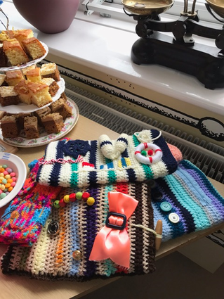 Wool needed for Twiddle Muffs