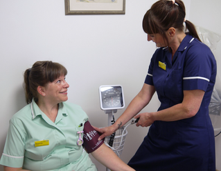 Friends fund:  £4,029 for 28  Sphygmomanometers..blood pressure measuring the traditional way.