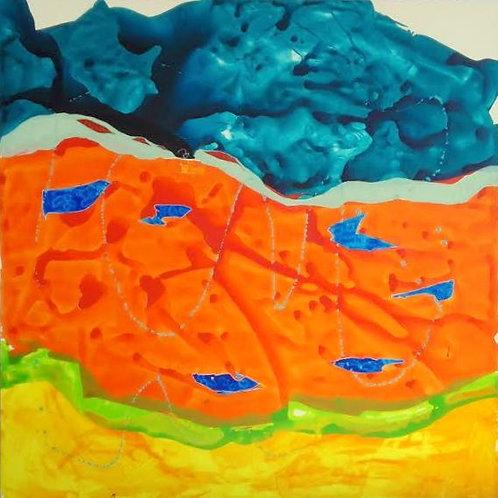 Michael Eldridge - Acrilico su tela 120 x 120
