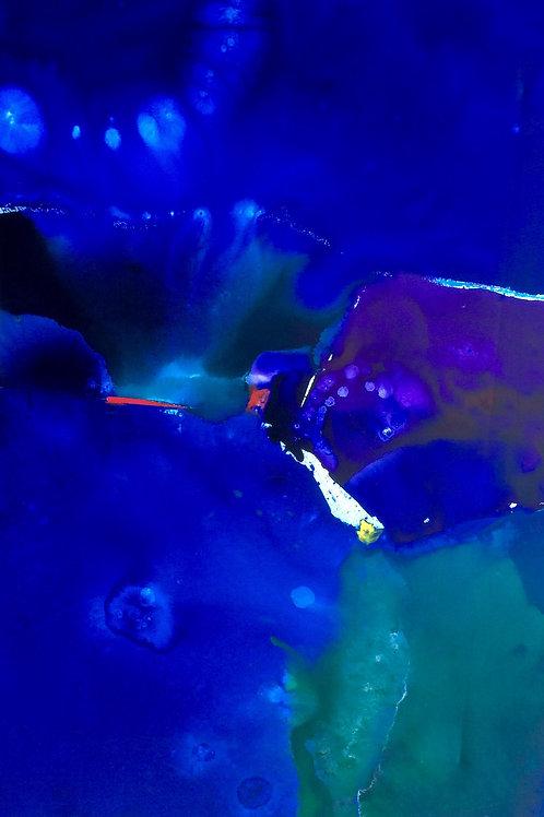 Michael Eldridge - Acrilico su tela 100 x 70 cm