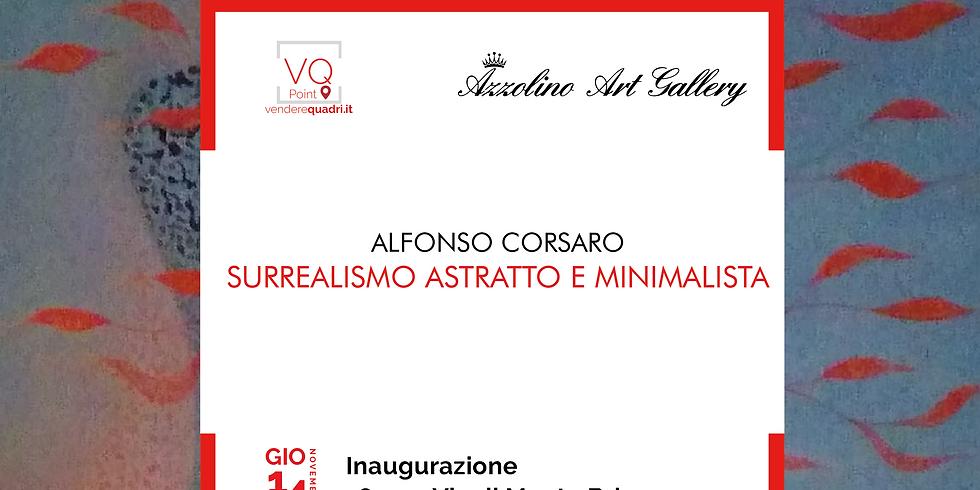 Inaugurazione mostra personale di Alfonso Corsaro