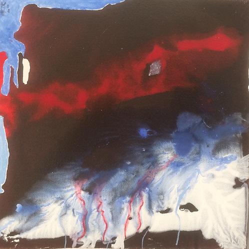 Michael Eldridge- Acrilico su tela 20 x 20 cm