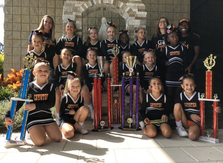 Pee Wee 1st Place