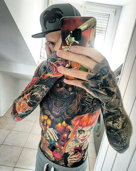 Clown Tattoomodel
