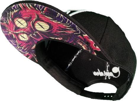 Purple Monster Cat