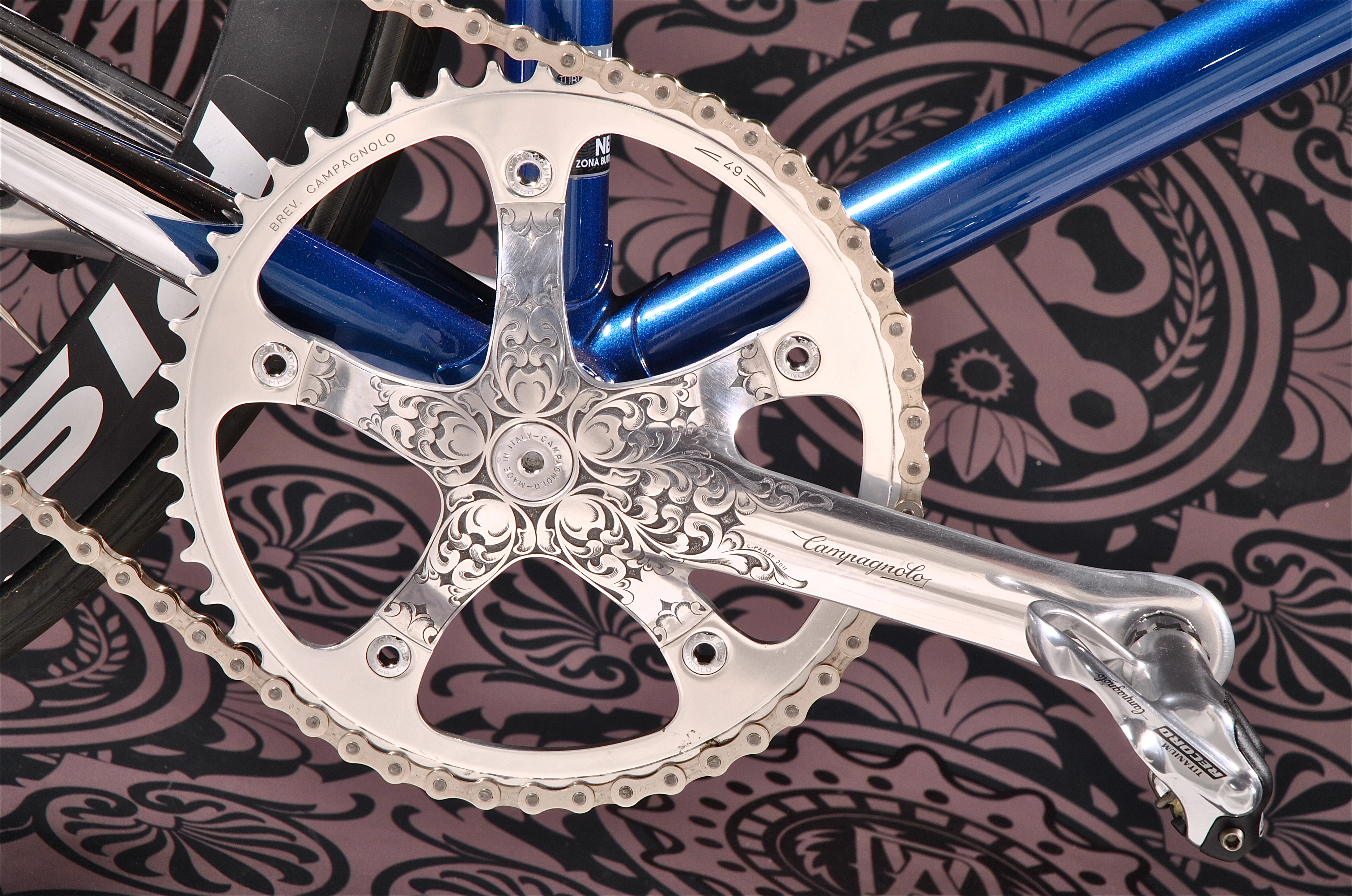Engraved groupset by ADV