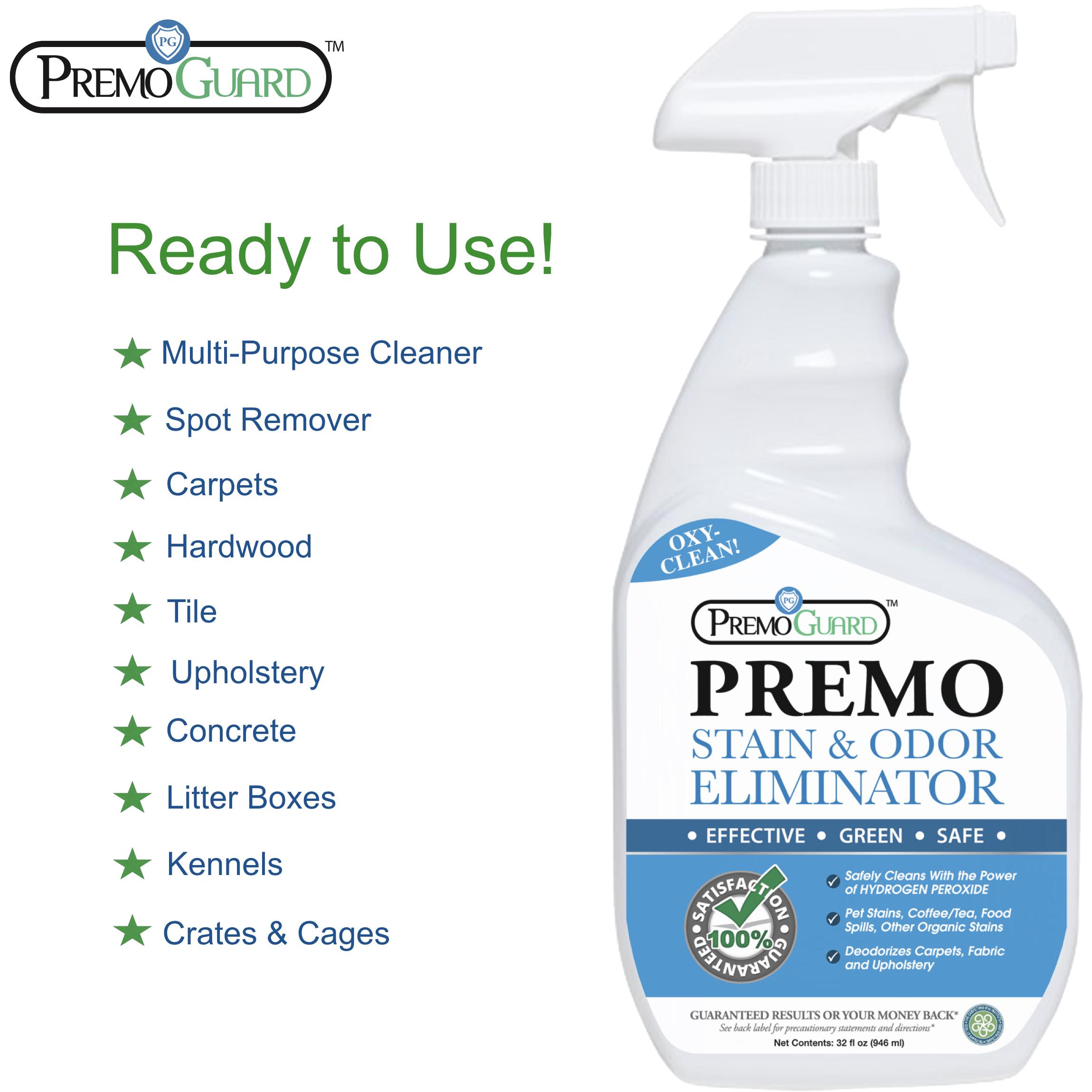 Premo Guard   Stain and Odor Eliminator 32 oz