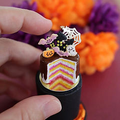 ちょっと早いですがHappy Halloween 🎃 今年はケーキを作ってみま