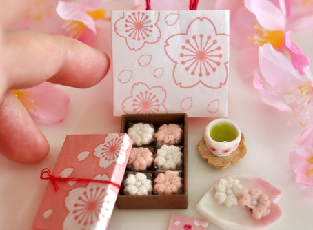 桜もなか。販売のお知らせ。
