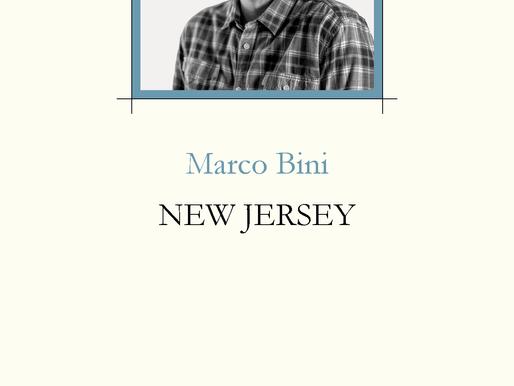 """«Apostrofo senza nome dopo»: recensione a """"New Jersey di Marco Bini"""