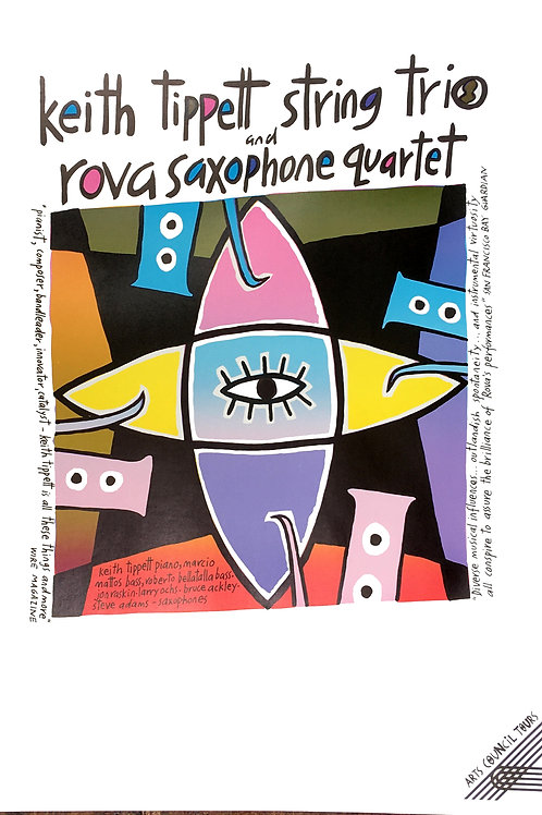 Keith Tippett and Rova Saxophone Quartet