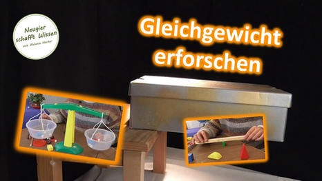 Der schwebende Karton - Experimente zum Gleichgewicht und Schwerkraft für Kinder