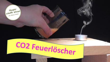 CO2 Feuerlöscher mit Brausetablette - Experimente mit Kohlendioxid