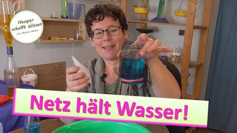 Wasser hält zusammen - Oberflächenspannung