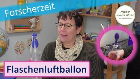Wie gelangt der Luftballon in die Flasche