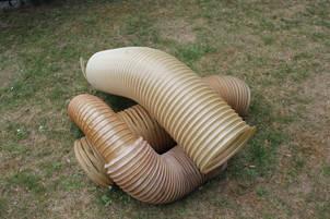 PLastic tube sculpture4*.JPG