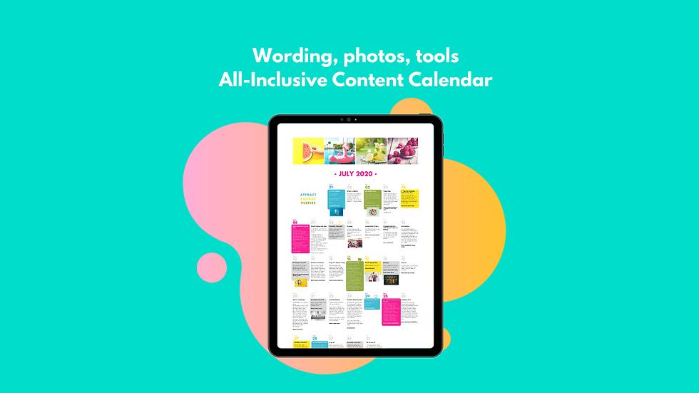 Content Calendar - Healthcare | Pharma | Medical