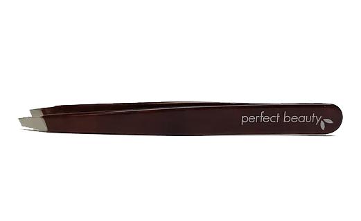 DARK Wood Collection Tweezers - Slanted Tip