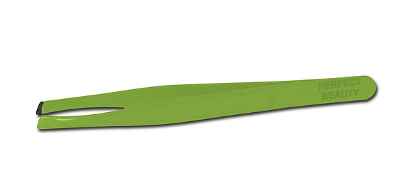Lil' Slanted Tweezers - Green
