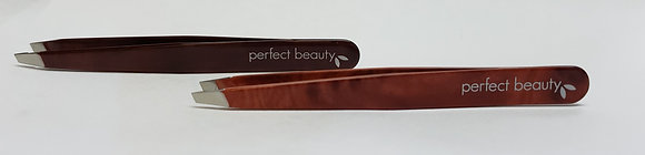 The Wood Collection Tweezers - Slanted Tip
