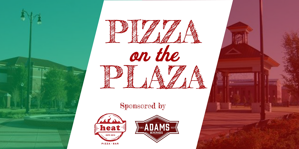 June Social: Pizza on the Plaza Sponsored by Heat Pizza & Adams Beverages