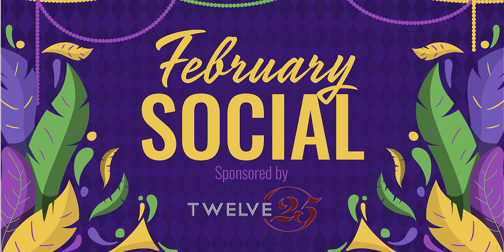 February Social: Mardi Gras at Twelve25