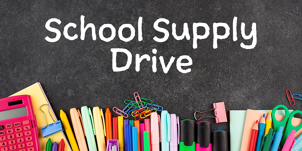 School Supply Drive for TMMS