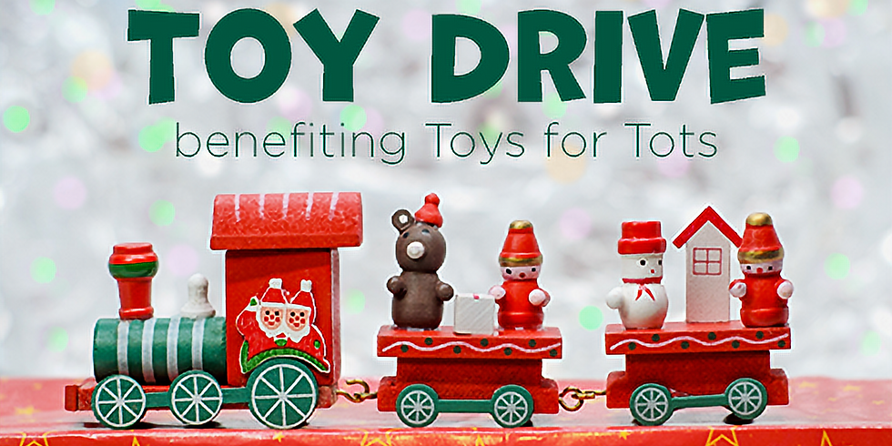 YT Toy Drive Benefiting Toys for Tots