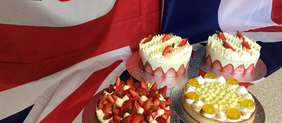 So Pretty Patisserie supplies French Cakes for VE day commemorative Tea Parties