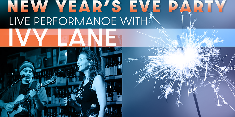 New Year's Eve 2019 with Special guest Ivy Lane
