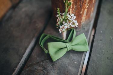 Rustic men's buttonhole