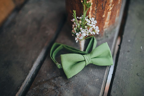 Grooms Bow Tie and Corsage