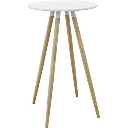 White and Wood Cocktail Table