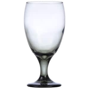 Smoke Glass Goblet