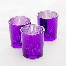Purple Mercury Votive