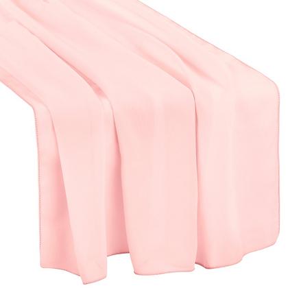Powder Pink Chiffon