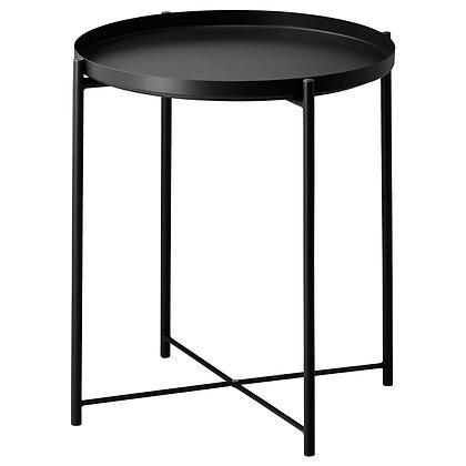 Black Zena Side Table